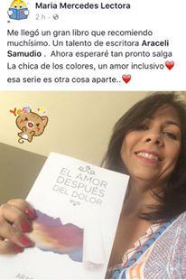 María Mercedes desde Puerto Rico