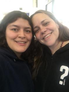 Encuentro con Astrid en el aeropuerto de CDMX